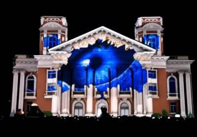 Отново LG 3D Mapping в София?