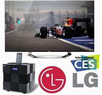 LG ще покаже нови телевизори с Nano Full LED подсветка на CES 2012