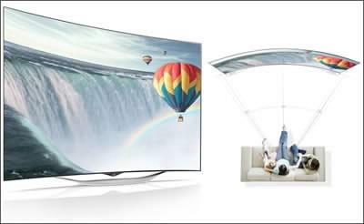 LG анонсира огънатия 3D OLED телевизор EC930T с webOS