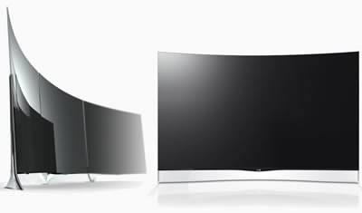 LG пуска на пазара в Европа 55-инчов телевизор със закръглен екран за 8999 евро
