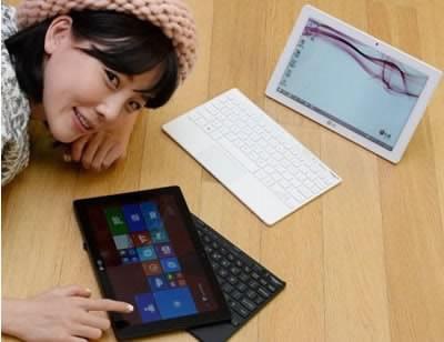 LG Tab Book Duo - таблет и лаптоп с Windows 8.1 и клавиатура