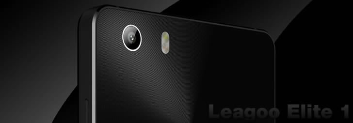 Leagoo Elite 1 back cover