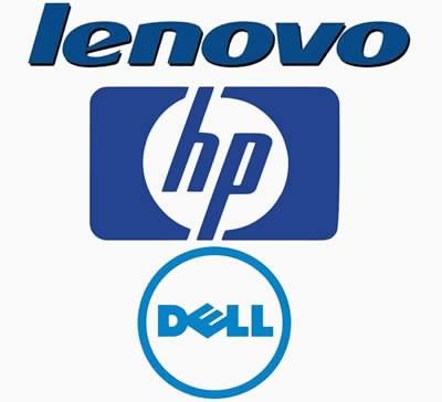 Lenovo, HP и Dell неизменно са в топ 3 на производителите на персонални компютри
