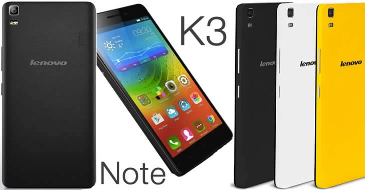 Lenovo K3 Note Black