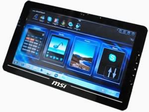 MSI навлиза на пазара на таблети през 2011 г.