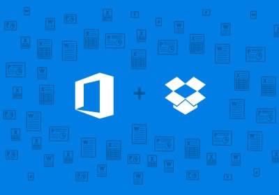Microsoft Office в тясна интеграция с Dropbox услугите