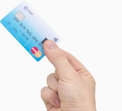 MasterCard и Zwipe пускат първата безконтактна карта с дактилоскопичен датчик