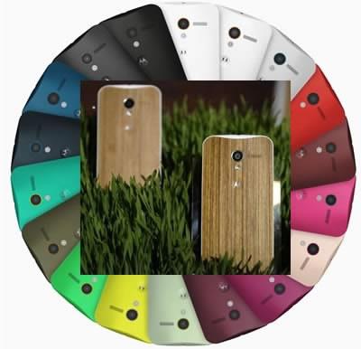 Motorola Moto X ще предлага дървен корпус на феновете