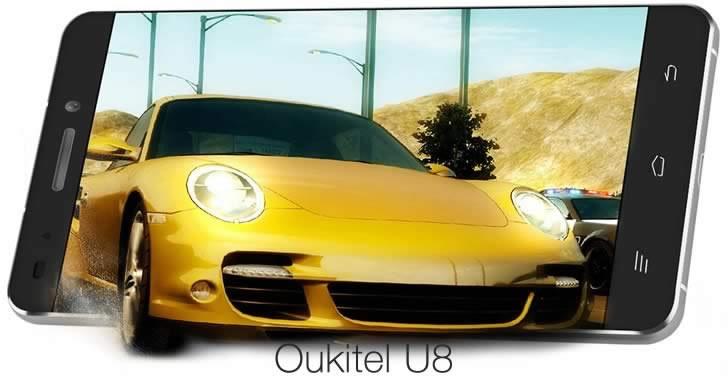 OUKITEL U8 - красив и евтин frameless смартфон от среден клас