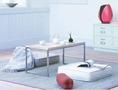Onkyo WS-TP - безжично озвучително тяло с формата на лале в розово и черно
