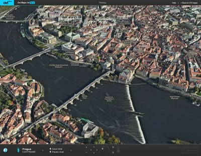 Страхотни 3D фотореалистични модели на градове в онлайн версията на Ovi Maps 3D