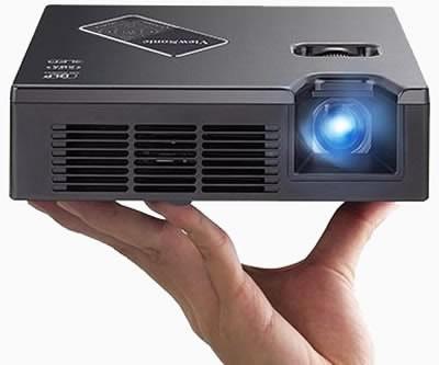 ViewSonic анонсира портативните LED проектори PLED-W600 и PLED-W800