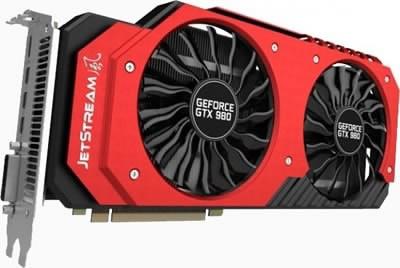 Видеоускорителят Palit GeForce GTX 980 Super-JetStream предлага фабричен овърколк