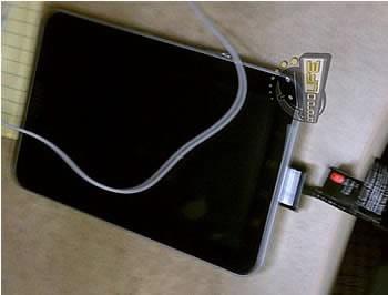 Първа снимка на таблета Samsung Galaxy Tab 7.7