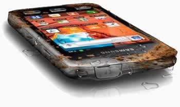 Samsung Galaxy Xcover - мобилния телефон на Рамбо