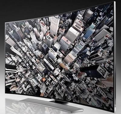 Нови огънати UHD телевизори от Samsung