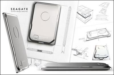 Seagate Seven - най-тънкия портативен външен твърд диск с обем 500 GB