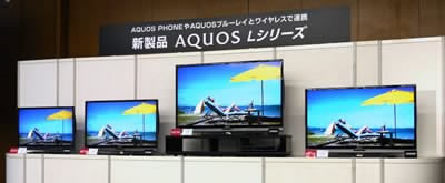 Sharp AQUOS L е новата линия Full HD 3D телевизори на японския производител
