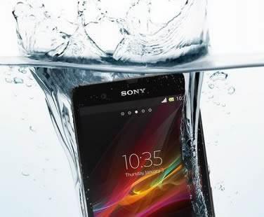 Sony Xperia ZR ще може да се потапя във вода до дълбочина 1.5 метра