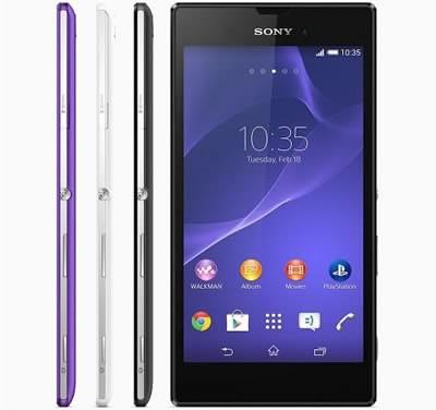 Sony Xperia T3 - тънък смартфон от среден клас