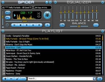 Spider Player Basic, версия 2.5.3