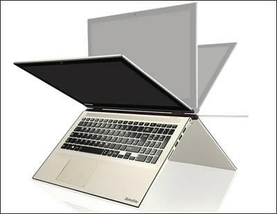 Toshiba Satellite Radius 15 - мощни хибриди лаптоп - таблет с Core i5