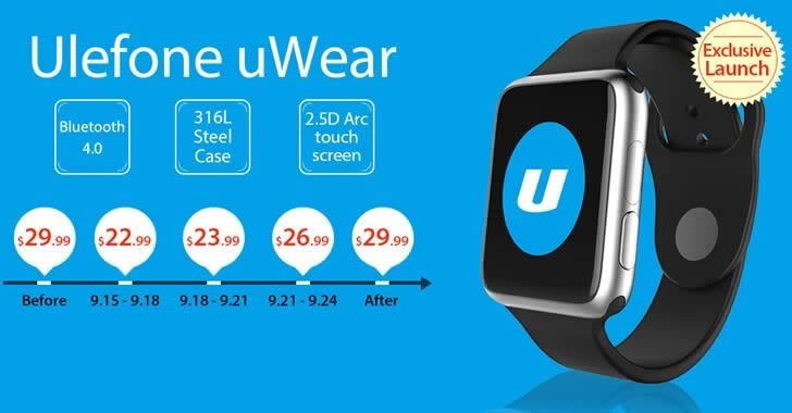 Ulefone uWear smart watch