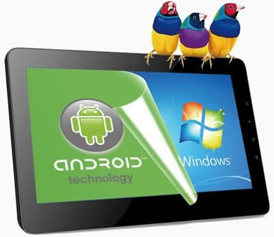 ViewSonic ViewPad 10i - x86 таблет, предлагащ едновременно Android и Windows 8