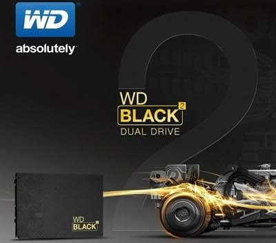 WD представи първата комбинация от диск и SSD в един 2.5-инчов корпус