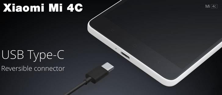 Xiaomi Mi4C USB Type-C