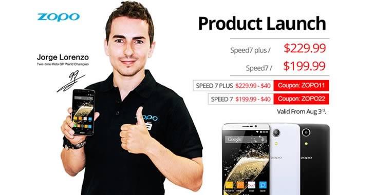 Промоция на смартфоните ZOPO Speed 7 и ZOPO Speed 7 Plus от 3 август