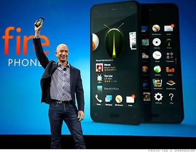 Fire Phone - опитът за смартфон на Amazon се оказа неудачен