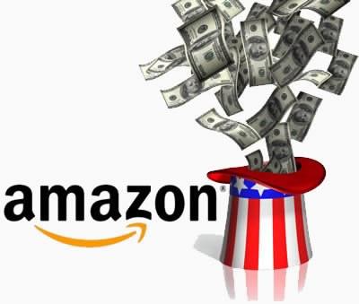 Американски данъчни погват Amazon.com
