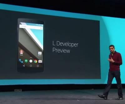 Android L - най-мащабното андроид обновление досега - повече от 5000 нови API-та