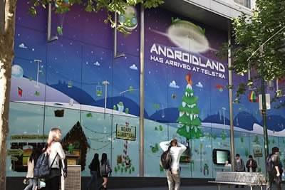 Androidland - първият в света специализиран Android магазин