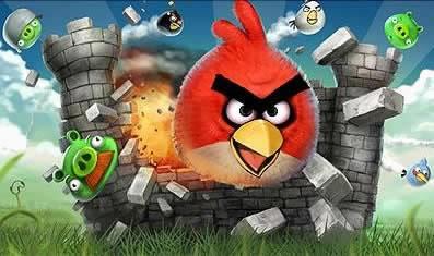 Най-играната игра за 2010 - Angry Birds