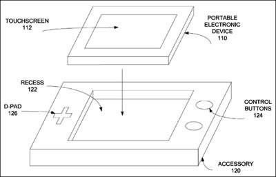 Калъфът на смартфона се превръща в джойстик в нов патент на Apple