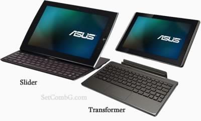Asus представи два интересни таблета - Eee Pad Slider и Transformer
