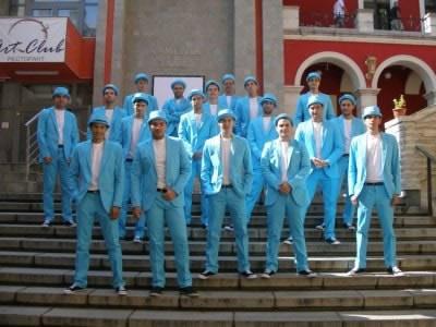 Сините хора - нищо интересно, май поредната кампания на Мтел