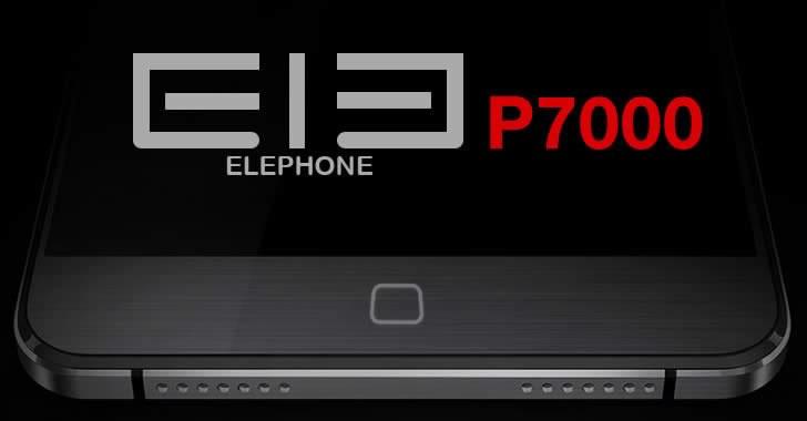 Elephone P7000 - нова китайска звезда сред смартфоните