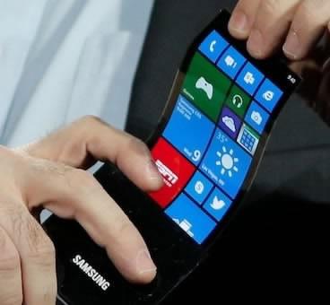През ноември Samsung и LG започват масово прозиводство на гъвкави екрани