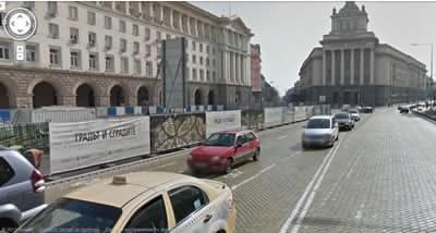Google Street View вече и в България
