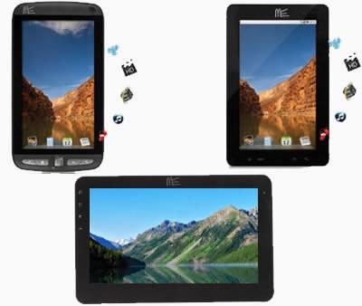 HCL ще предложи 3 Android таблета