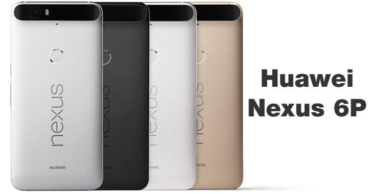 Google и Huawei официално представиха Nexus 6P
