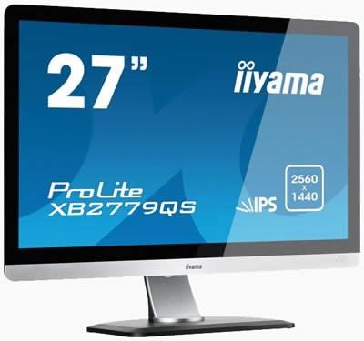 iiyama ProLite XB2779QS - 27-инчов монитор с резолюция 2560х1440 и IPS панел за хилядарка