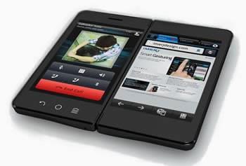 Imerj SmartPad - екстравагантен хибрид между таблет и смартфон с два екрана