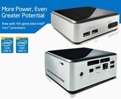 Intel ще представи NUC с Core 4-то поколение - обновена серия мини компютри до края на годината