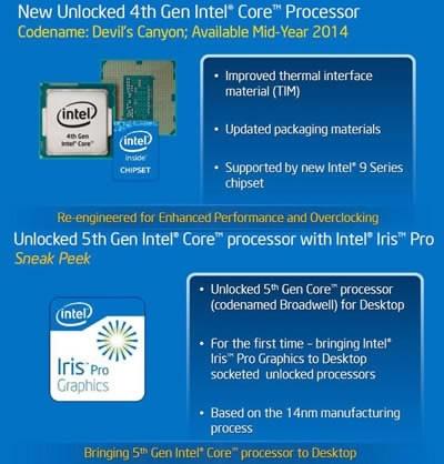 Intel не забравя екстремните овърклокери, пуска нови процесори за тях