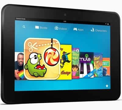 Amazon Kindle Fire HD с много новости спрямо сегашния таблет на Amazon