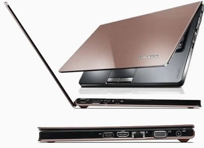 Lenovo IdeaPad U260 - елегантен, тънък лаптоп с леко нестандартен дисплей